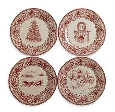 christmas plates   Tin Christmas Plates review at Kaboodle