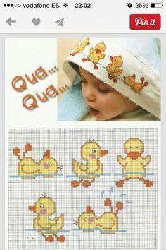 Patinho toalha de banho baby
