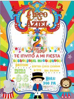 tarjeta circo