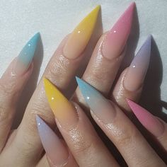 "Kim&me Product on Instagram: ""Pick out your favorite one  #ombrenails #nailgameonpoint #nailsofinstagram #nailsoftheday #naildesigns #nail #nailsdid #nailsonfleek…"""