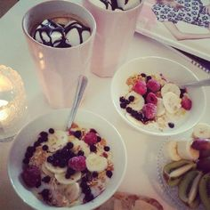 Good morning, have a great weekend! #breakfast #healthy #dessert #goodmorning