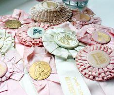 Beautiful Vintage Award Ribbons