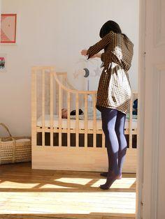 Lit pour bébé LUGE design Martial NOUHAUD