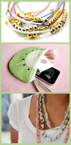 DIY Summer Clothing and Accessory Tutorials