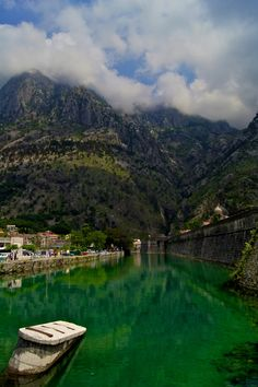 Kotor, Montenegro -- first let me take the world globe out and see where this place is :-)