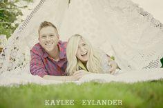 DIY Camping Engagement session | Kaylee Eylander Photography | Snohomish Wedding Photographer