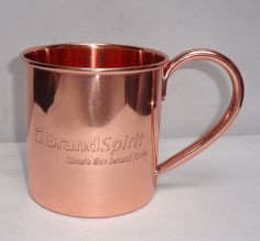 custom lazer engraved logo copper moscow mule mug - low price guaranteed