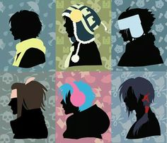 Clear, Noiz, Ren, Mink, Aoba and Koujaku