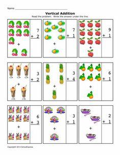 FREE worksheets, create your own worksheets, games. Jolly Phonics Activities, Dyslexia Activities, Kindergarten Math Activities, Math Resources, 1st Grade Math Worksheets, Addition Worksheets, Worksheets For Kids, Numbers Preschool, Preschool Printables