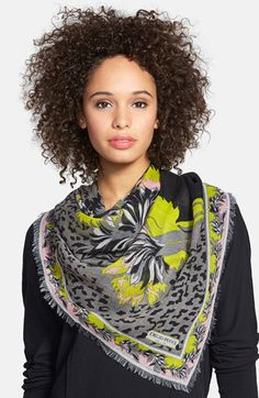 Emilio Pucci 'Khiva' Wool & Silk Scarf available at #Nordstrom