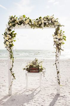 Beach Ceremony Set up Florist: Signature Florals Photographer: Limelight Photography Videographer: Fidelis Films Off-Site Wedding Planner: CocoLuna Events Marco Island Wedding Sunset Wedding, Our Wedding, Wedding Beach, Wedding Planner, Destination Wedding, Beach Ceremony, Marco Island, Island Weddings, Florals