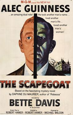 THE SCAPEGOAT; 1959;  when you visit The Vintage Poster you can walk down the street and see Bette Davis's house on the beach.  Just another great reason to visit in person.