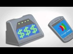 Google Wallet is a smartphone NFC payment technology that supports mobile payments, loyalty programs, coupons, and receipts. If a merchant can't read NFC or you don't have a compatible phone, you can scan an optical barcode on the screen instead.