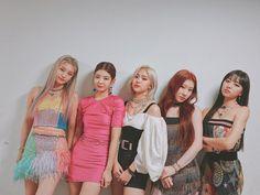 Kpop Girl Groups, Korean Girl Groups, Kpop Girls, K Pop, Kpop Anime, Indie, Programa Musical, Love U So Much, New Girl