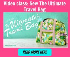 In the bag-sewing world there is sometimes a tendency for bags to look kinda similar. After all, how many ways can you make a bag? So when something totally different comes up, it's like a …