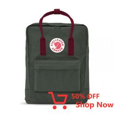 Fjällräven's Kanken laptop backpack is great for commuting and travel, and is also convenient as a diaper bag.