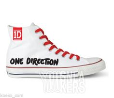 Scarpe One Direction 1D Uniche tipo Converse All Star alte lacci Tubelaces® red - $79.92 http://rover.ebay.com/rover/1/711-53200-19255-0/1?ff3=4&pub=5575074650&toolid=10001&campid=5337444095&customid=1D+Tshirt&mpre=http%3A%2F%2Fwww.ebay.com%2Fitm%2FScarpe-One-Direction-1D-Uniche-tipo-Converse-All-Star-alte-lacci-Tubelaces-red-%2F151147493269%3Fpt%3DUomo_Scarpe%26var%3D%26hash%3Ditem233117b795