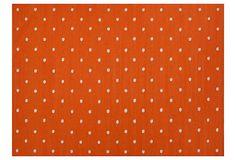 Santee Flat-Weave Rug, Orange on OneKingsLane.com