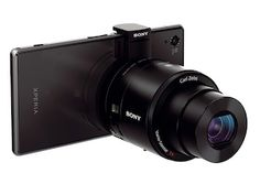 Turn Every Smartphone into a Great Camera...Sony QX100 & QX10: Lenses with Full Cameras Baked in..