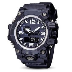 SBAO Watch LED Men Waterproof Sports Watches Shock Digital Electronic Features: Brand new High Quality Fashion Sports style Life Waterproof Alarm function Date and Time Stopwatch timing Luminous display Long-life battery Package Content: 1 x Sports Watch Mvmt Watches, Armani Watches, Luxury Watches, Cool Watches, Watches For Men, Wrist Watches, Waterproof Sports Watch, Digital Wrist Watch, Lead Men