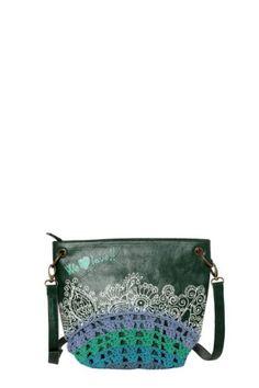 41bK4OkZHRL  Desigual Bag Bando Tricot Colors Green 35x54644015 Womens