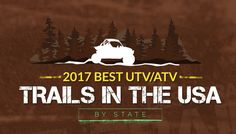 Ready for an adventure? Check out these amazing trails. Find the best UTV trails by state. Atv Riding, Trail Riding, Horse Training Tips, Horse Tips, Best Rv Parks, Water In The Morning, Fifth Wheel Trailers, Tough Day