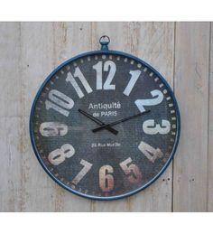 Stylowy #zegar ścienny w eleganckiej ramie. Wspaniałe uzupełnienie wystroju praktycznie każdego domowego pomieszczenia w stylu kolonialnym. Model: HM-177 @ 274 zł. Zamówienie online: http://goo.gl/tYdKQC