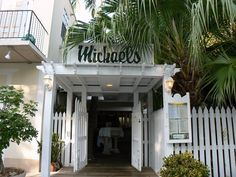 Michael's Key West - My absolute favorite place in KW.  Plus, I lived just a few houses down and could easily stumble home after a few too many.  Best steak on the island and the staff are great!!  A big shout out to Nancy and Suzette!!