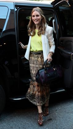 Olivia Palermo - Celebs Arrive at the 'See By Chloe' Event in NYC | http://getthelookoliviapalermo.blogspot.com.es