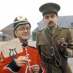 Tony Robinson as Private S. Baldrick in Blackadder Goes Forth | Blackadder | Pinterest | Photos