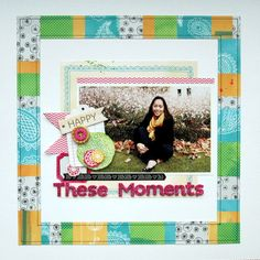 These Moments - by Piradee Talvanna using Amy Tangerine Sketchbook from American Crafts.