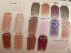 Make Up Revolution I Heart Chocolate Palette - Kalter Kaffee