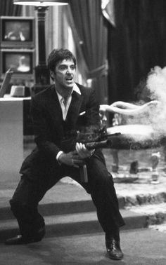 """Say hello to my little friend!""SCARFACE"