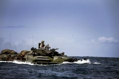 Marines from Amphibious Assault Vehicle (AAV) Platoon, Battalion Landing… Military Box, Military Personnel, Military Vehicles, Once A Marine, Wounded Warrior Project, Staff Sergeant, Navy Mom, Us Marines, Marine Corps