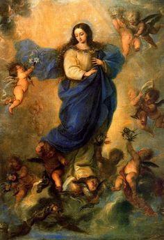 Inmaculada Concepción por Claudio Coello, s XVII