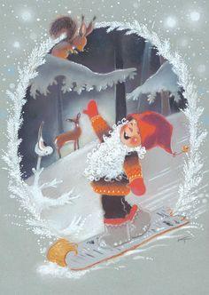 Нажмите, чтобы закрыть Christmas Clipart, Christmas Images, Christmas Greetings, Vintage Christmas, Christmas Crafts, Christmas Decorations, Winter Illustration, Parchment Craft, Winter Pictures