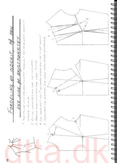 SYSTEM DTTA: PAGE 48 | Tailoring - patternmaking, cutting and sewing | THE DESIGN AND TECHNICAL TAILORING ACADEMY | TILSKÆRERAKADEMIET I KØBENHAVN (KBH)