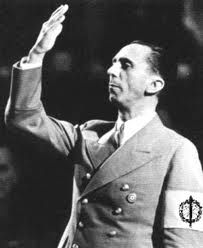 Joseph Goebbels was the Reich Minister of Propaganda for Nazi Germany, taking office from 1933 to 1945. He was one of Hitlers closet allies. He was very effective at what he did. His propaganda campaigns turned those who were once close friends of Jews into Anti-Semites.