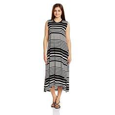 Chemistry Women Synthetic #Column #Dress (C15-024Kdldr _Black And White _X-Small)