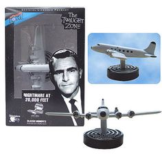 Twilight Zone Nightmare at 20,000 feet diorama. Available at: http://stores.ebay.ca/Monster-Smash-Toy-Shop