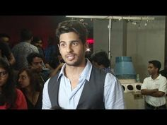 Sidharth Malhotra at trailer screening of BAAR BAAR DEKHO movie.