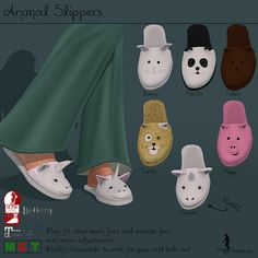 Animal Slippers | Flickr - Photo Sharing!