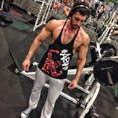Athlete Aesthetic Antoine Wearing Our Governor Tank