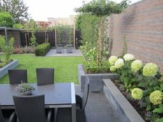 Will de Kruijf Garden design & Maintenance - Gardener Best - The gardens of W . - Will de Kruijf Garden design & maintenance – Hoveniersbedrijf Best – The gardens of Will de Kru - Small City Garden, Small Garden Design, Dream Garden, Back Gardens, Small Gardens, Outdoor Gardens, Garden Makeover, Patio Makeover, Outdoor Landscaping