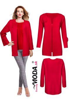 Krásny  a originálny jasno červený krátky dámsky sveter vo veľkostiach pre moletky. Polyvore, Dresses, Fashion, Vestidos, Moda, Fashion Styles, Dress, Fashion Illustrations, Gown