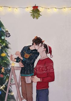 stay gold - Have yourself a merry Jaytim Christmas♡ Jason Todd, Cute Gay Couples, Anime Couples, Manga Anime, Anime Art, Character Art, Character Design, Batman Family, Tim Drake