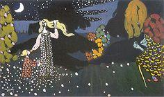 The Night, 1907 -Kandinsky
