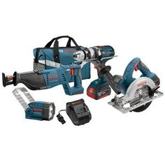 Bosch CLPK402-181 18-Volt 4-Tool Lithium-Ion Cordless Combo Kit with 1/2-Inch Hammer Drill/Driver, Reciprocating Saw, Circular Saw and Flashlight  http://www.handtoolskit.com/bosch-clpk402-181-18-volt-4-tool-lithium-ion-cordless-combo-kit-with-12-inch-hammer-drilldriver-reciprocating-saw-circular-saw-and-flashlight/