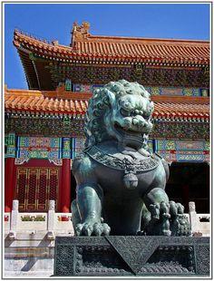 Forbidden City Beijing | LIONESS (FORBIDDEN CITY) BEIJING | Flickr - Photo Sharing!