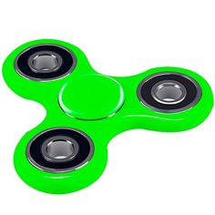 Fidget Spinner,Viyaabang Hand Spinner ,Tri-Spinner Fidget Toys for Adult and Kids -Perfect for ADD,ADHD,and Anxiety.(Green)